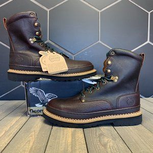Georgia Boot Giant Steel Toe Brown Leather Work